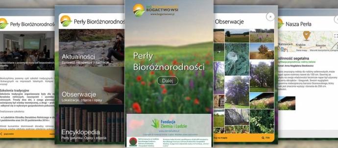 """Aplikacja """"Perły bioróżnorodności"""" już dostępna!"""